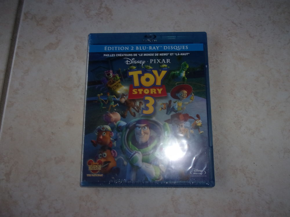 Blu-ray Toy Story 3 - Edition 2 blu-ray (Neuf) 16 Ardoix (07)