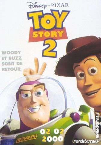 K7 Vhs: Toy Story 2 (19) 3 Saint-Quentin (02)
