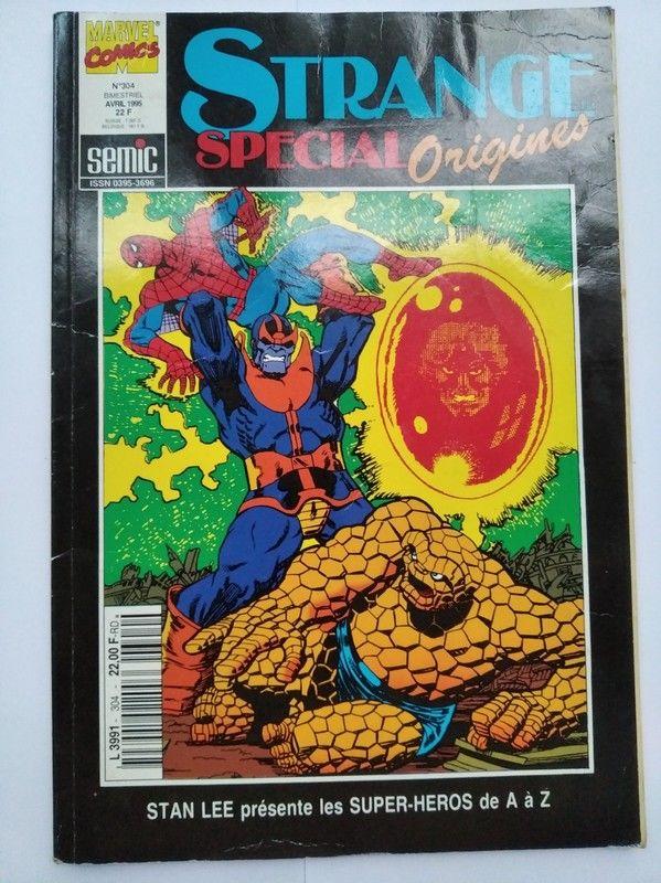 Strange Spécial Origines n°304 Livres et BD