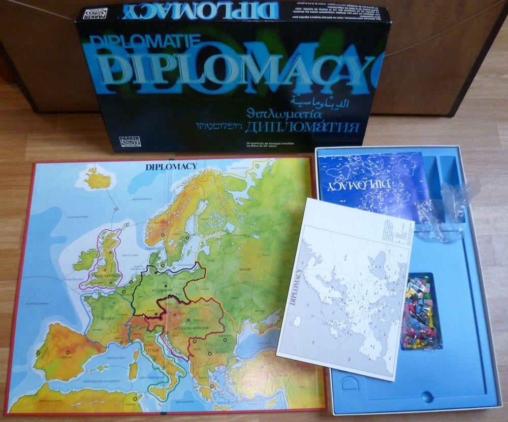 Jeu de stratégie Diplomacy 20 Vieux-Condé (59)