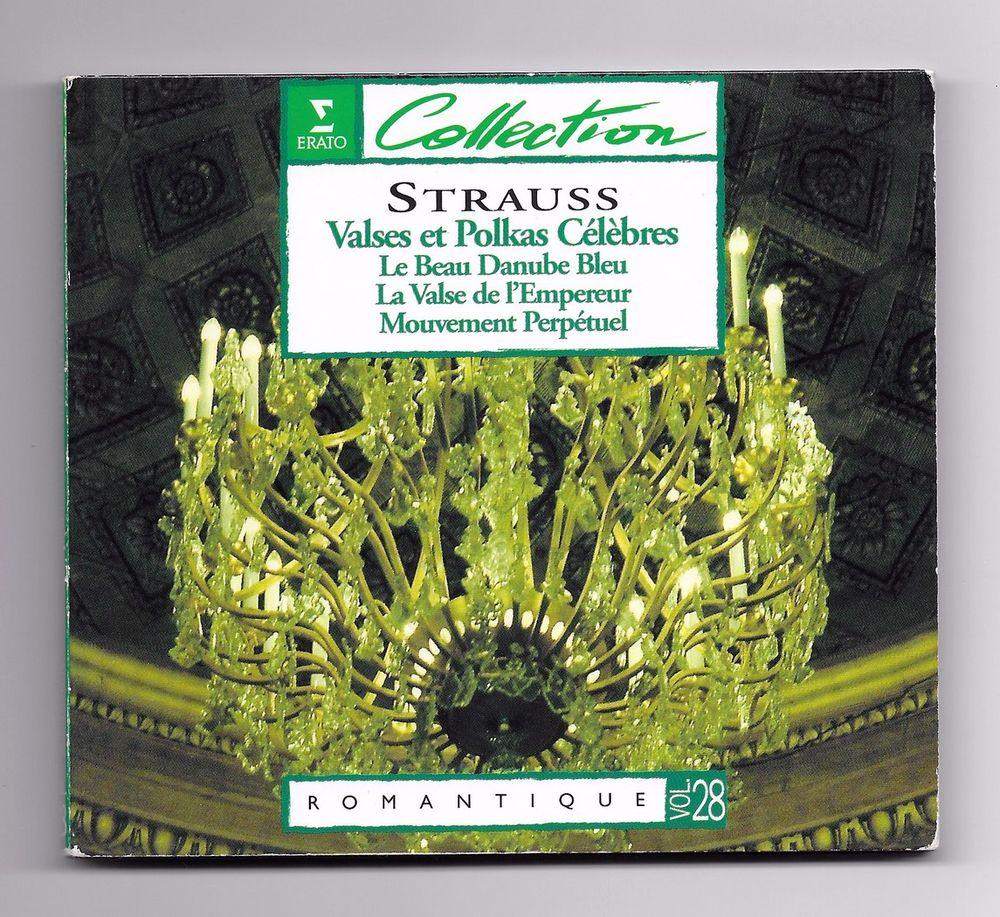 STRAUSS / LEHAR / ZIEHRER -CD- VALSES ET POLKAS CÉLÈBRES CD et vinyles