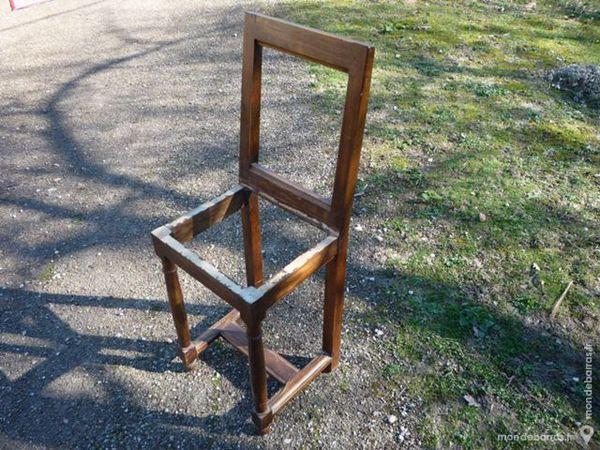 Structure de chaise lorraine en chêne 15 Castres (81)