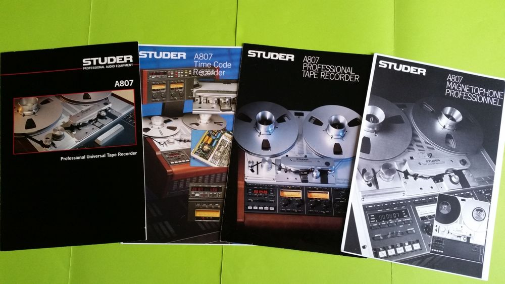 STUDER A807 0 Toulouse (31)