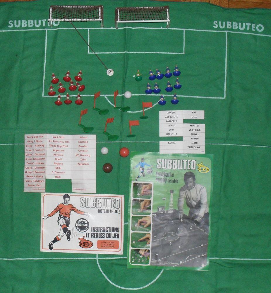 Subbutéo Table Soccer Coupe du Monde 1974 50 Montreuil (93)