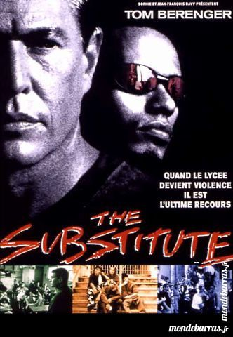 Dvd: The Substitute (154) DVD et blu-ray