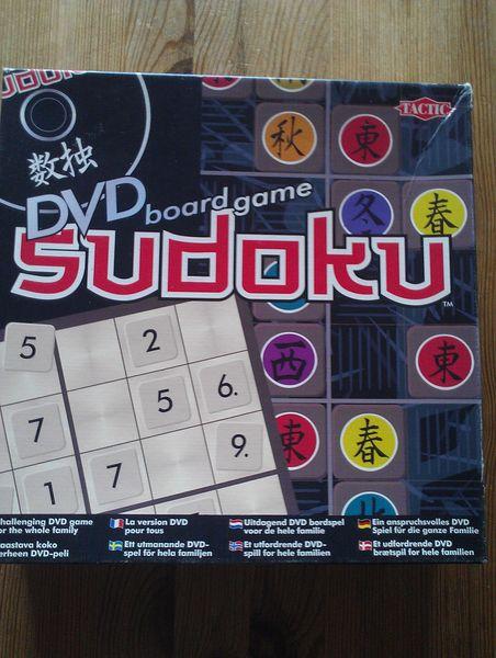 SUDOKU avec DVD 12 Auxonne (21)