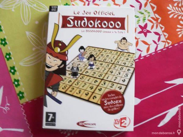 CD ROM PC Sudoku le jeu officiel Sudokooo TBE 2 Pantin (93)