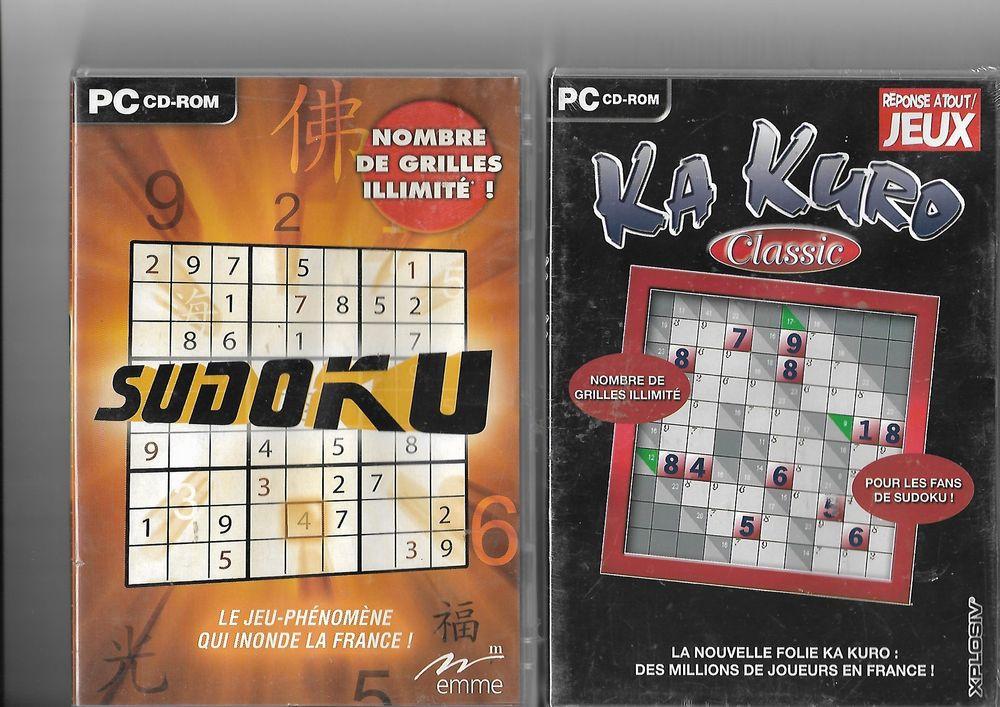DVD PC ROM SUDOKU 5 Saint-Denis-en-Val (45)