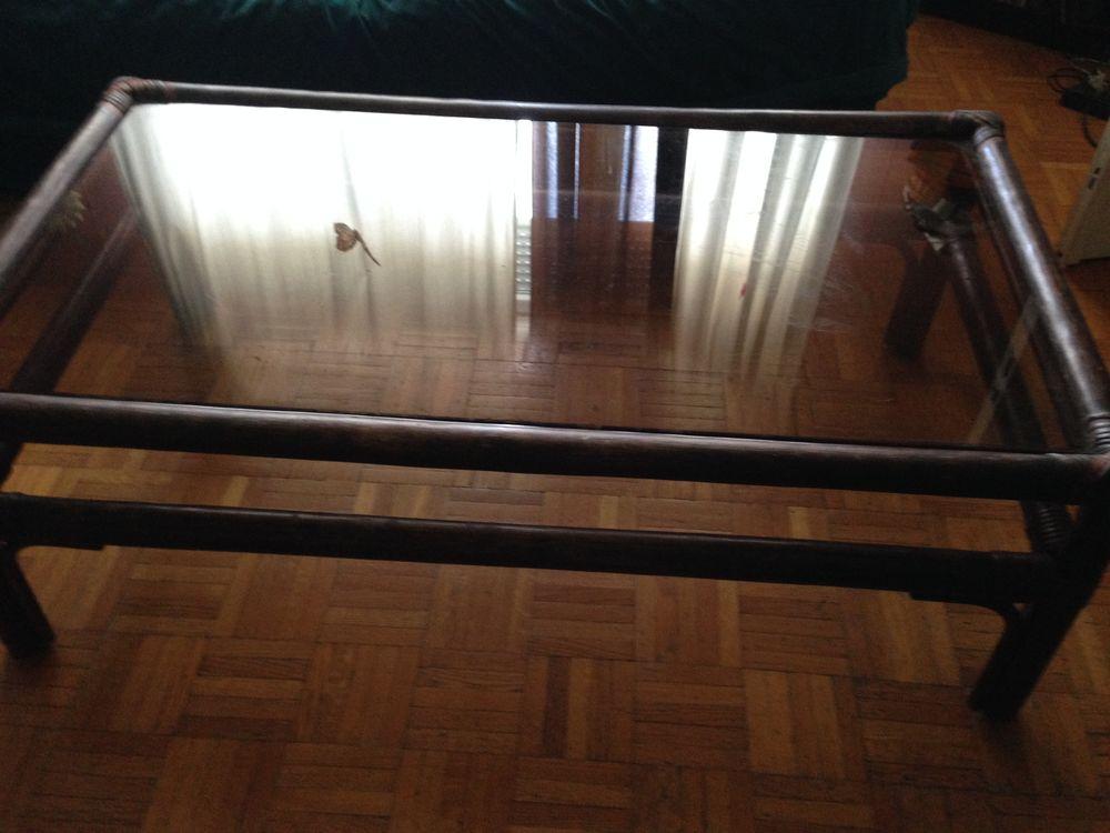 Suite déménagement table bambou 40 Villeurbanne (69)