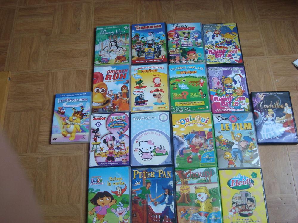 DVD suite (dessin animé (voir la liste) 3euros 3 Melun (77)