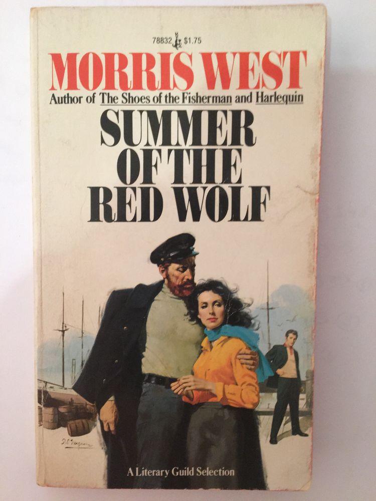 Summer of the Red Wolf de Morris L. West en anglais 8 Paris 16 (75)
