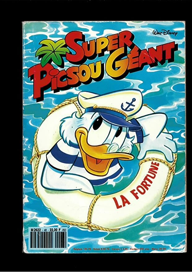 Super Picsou Géant N° 48 1 Saint-Jean-d'Angély (17)