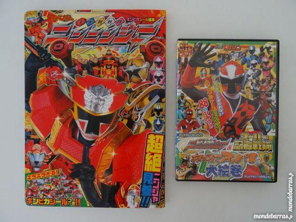 Super Sentai,Ninninger livre + DVD,Tokusatsu,Japon 15 Saint-Ambroix (30)