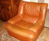 superbe fauteuil cuir 0 Reims (51)