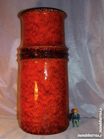 Superbe GRAND vase 45 cm céramique JASBA vintage 50 Dunkerque (59)