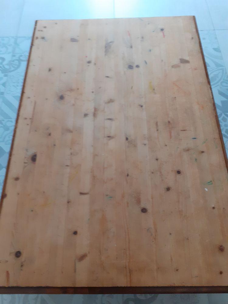 Superbe grande table basse en bois  60 La Réole (33)