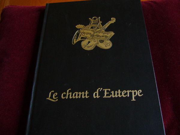 superbe livre Le Chant d'Euterpe (histoire de la musique) Livres et BD
