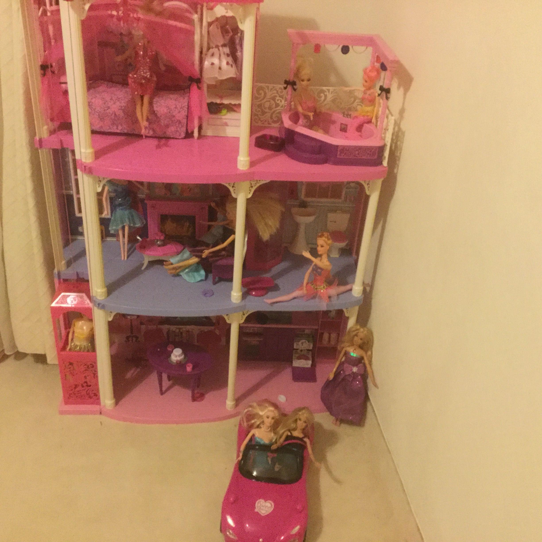 Maisons barbie occasion annonces achat et vente de maisons barbie paruvendu mondebarras - Plan de maison de barbie ...