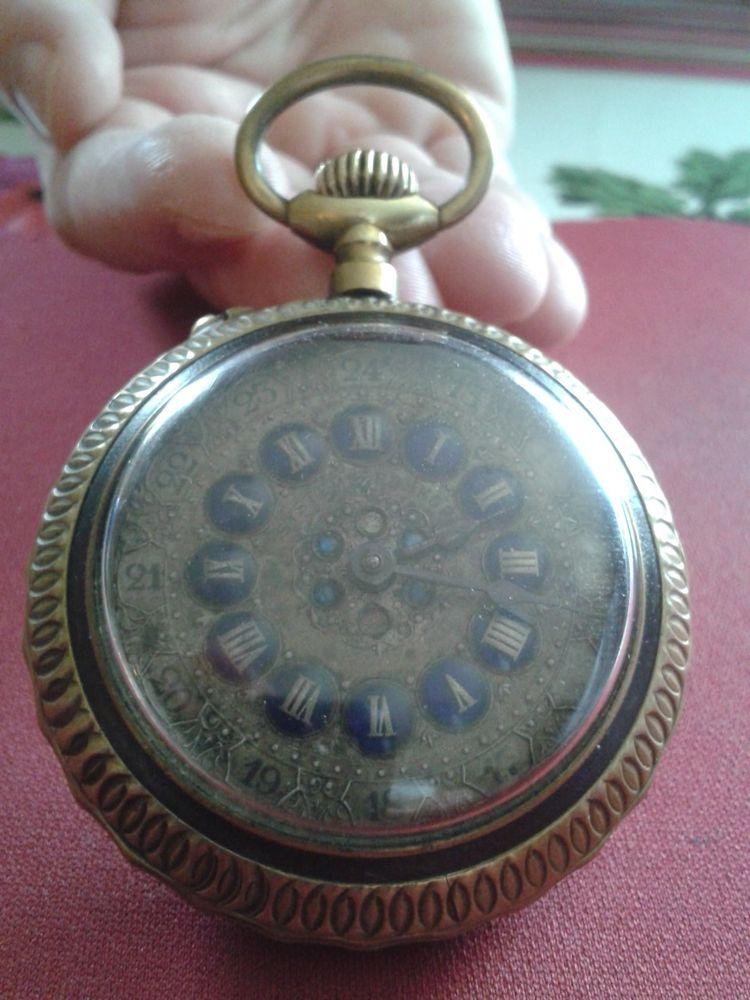 Superbe montre gousset a cartouches 295 Roissy-en-Brie (77)