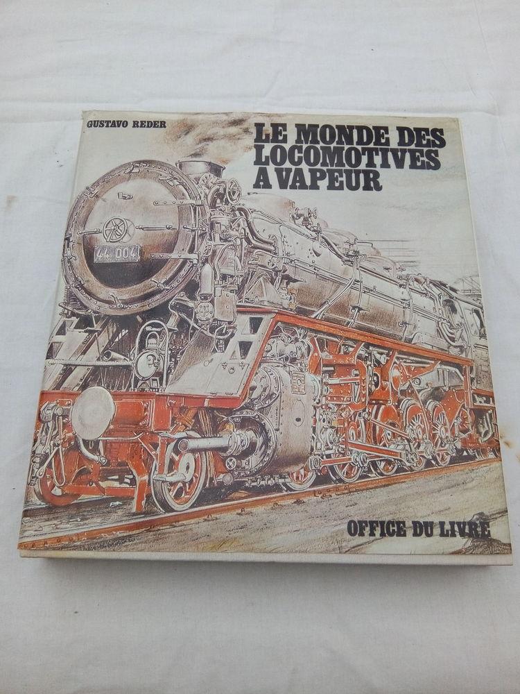 Superbe ouvrage sur les locomotives à vapeur 15 Étampes (91)