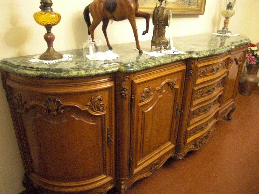 Superbe salle à manger Louis XV en merisier massif 0 Ingré (45)