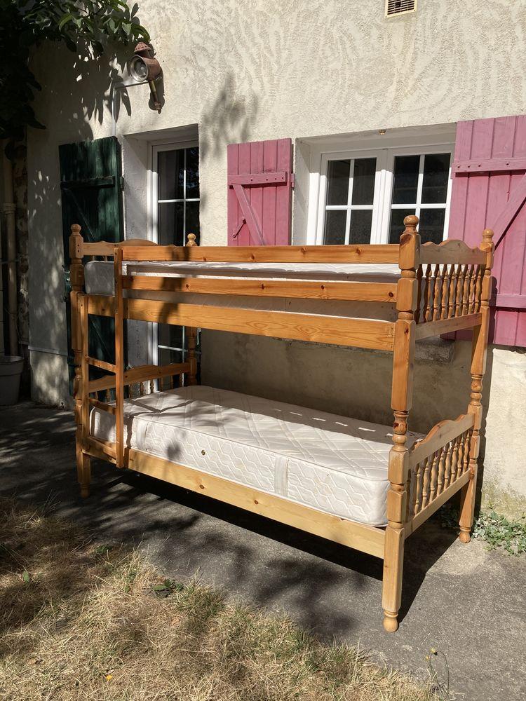 Lit superposé ou deux lits simples 60 Longjumeau (91)