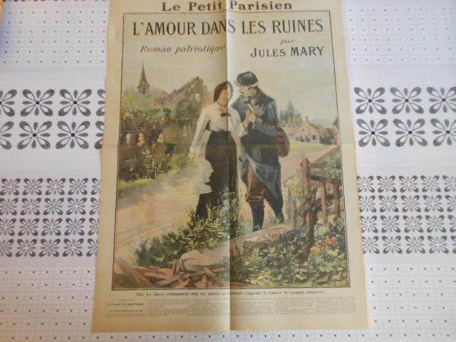 supplément Le petit parisien 1915 9 Grézieu-la-Varenne (69)