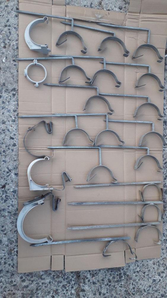 Supports/fixations, colliers gouttières. 24 Flers-en-Escrebieux (59)