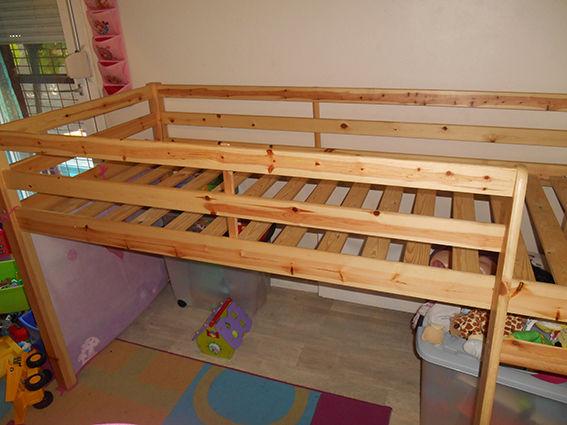 Achetez lit sur lev enfant occasion annonce vente montpellier 34 wb1504 - Lit sureleve occasion ...