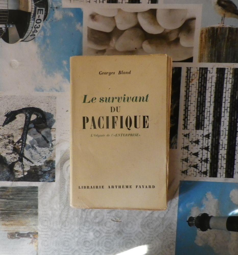 LE SURVIVANT DU PACIFIQUE L'Odyssée de l'  ENTERPRISE  1949 8 Bubry (56)