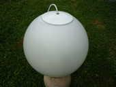 Suspension boule de verre opaque/sphère/luminaire/plafonnier 45 Castres (81)