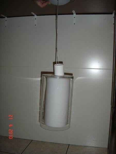 Suspension en double verre cylinder 50 Nantes (44)