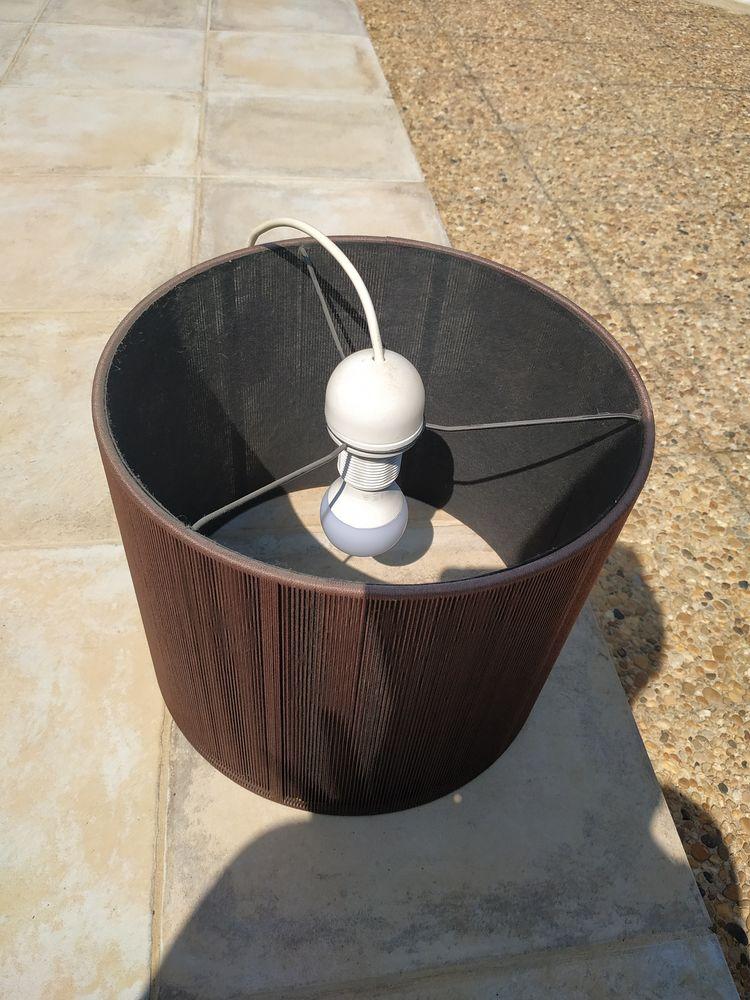 Suspension luminaire marron  10 Puiseux-en-France (95)