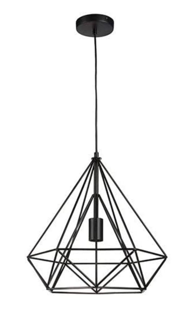 Une suspension en métal noir (Lifa Living) 35 Bordeaux (33)