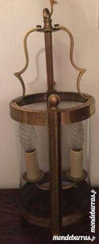 Suspension style Lanterne en laiton 15 Ris-Orangis (91)