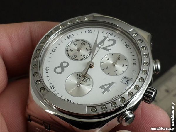 SWATCH V8 AG2008 montre chrono Suisse SWA0033 Bijoux et montres