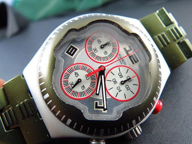 SWATCH IRONY ALU ETA chronographe 2005 SWA0022 125 Metz (57)