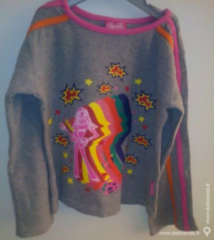 Sweat «Barbie» - gris 3 Pont-Péan (35)