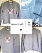 Sweat  chat  MADEMOISELLE R M 13 Marcq-en-Barœul (59)