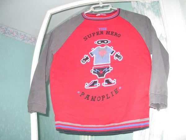 sweat DPAM 8 ans rouge/gris 4 Alfortville (94)