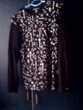 sweat noir motif Vêtements