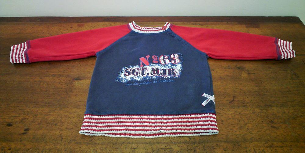 Sweat shirt marin 3 ans Sergent Major - TBE 8 Reims (51)