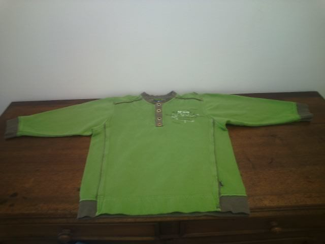 sweat shirt vert Jean Bourget 8 ans 6 Reims (51)
