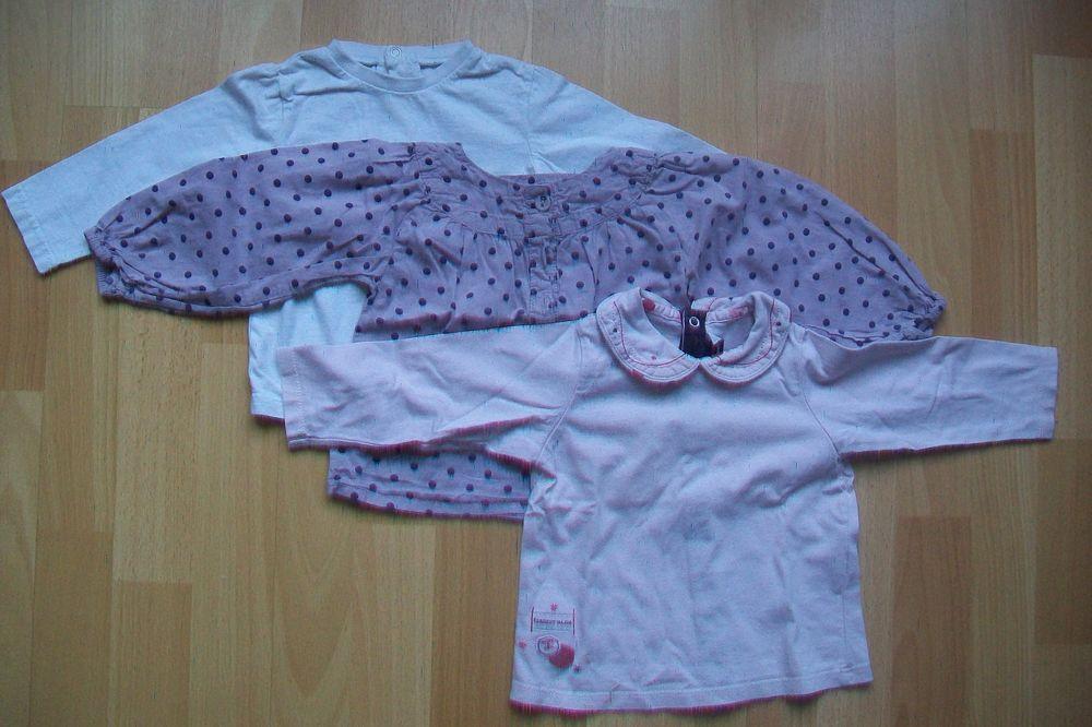 lot de 3 sweats fille de 18 mois : 4 Jouy-le-Moutier (95)