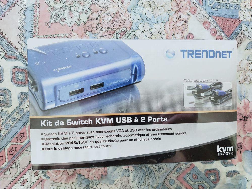 Switch Kvm Trendnet TK-207K  20 Nice (06)