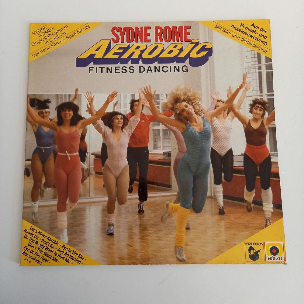 Sydne Rome, Aérobic, fitness dancing, vinyle 33 trs 1983     10 Saumur (49)