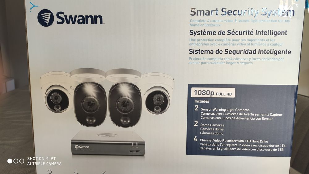 Système caméras vidéo surveillance SWANN 400 Ormoy (91)