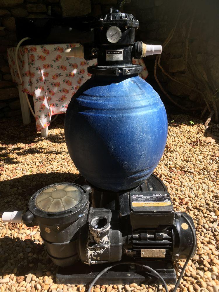 Système de filtration à sable et pompe de 10m3/h 300 Saint-Christol-lès-Alès (30)