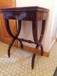 TABLE A JEU ACAJOU XIX° Occasion Meubles