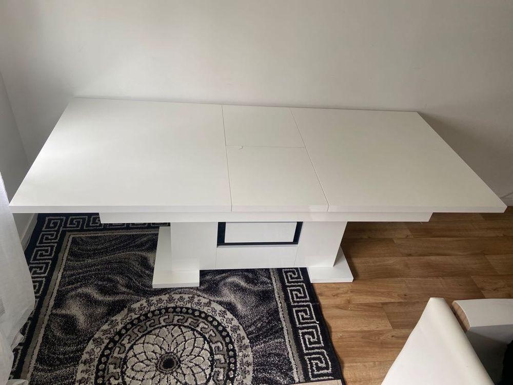 Table allongé blanche 1,60/2,00m 250 Deuil-la-Barre (95)